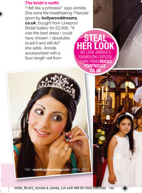 Wedding ideas April 2011 - Article feature