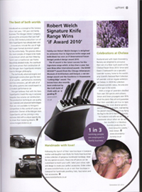Generation magazine Spring/Summer 2011 - Article feature