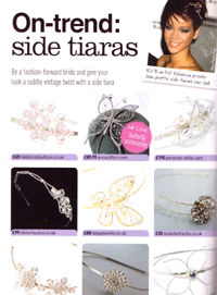 Perfect Wedding ideas magazine, Fashion Special 2010 - Feature article