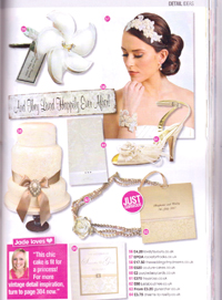 Wedding ideas March 2011 - Article feature