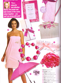Wedding ideas October 2010 - Article feature