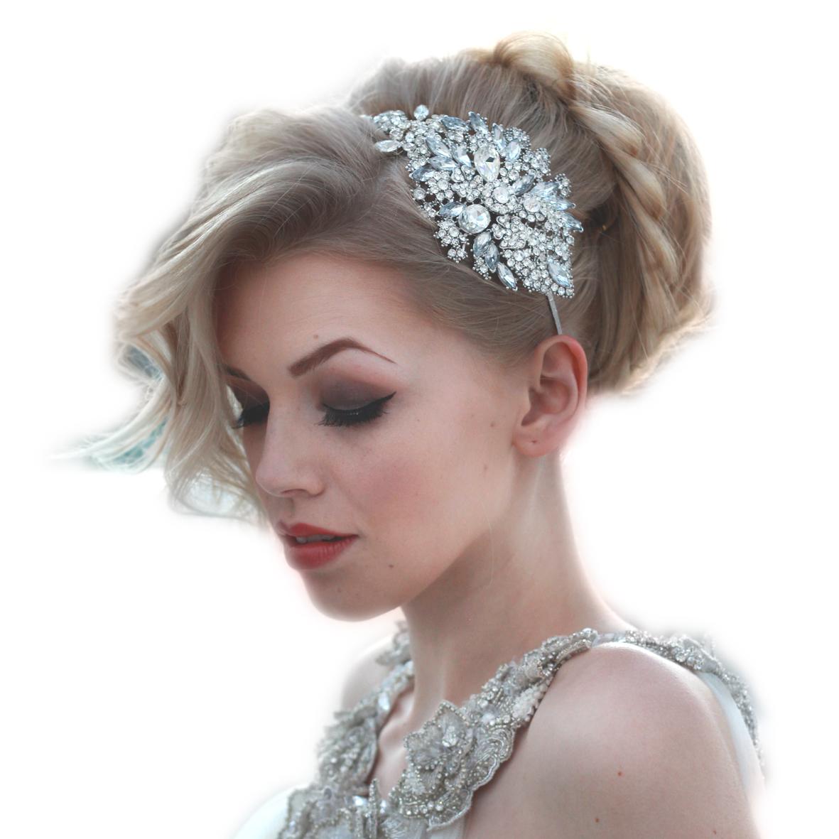 Lulu side headpiece – Rocks for Frocks