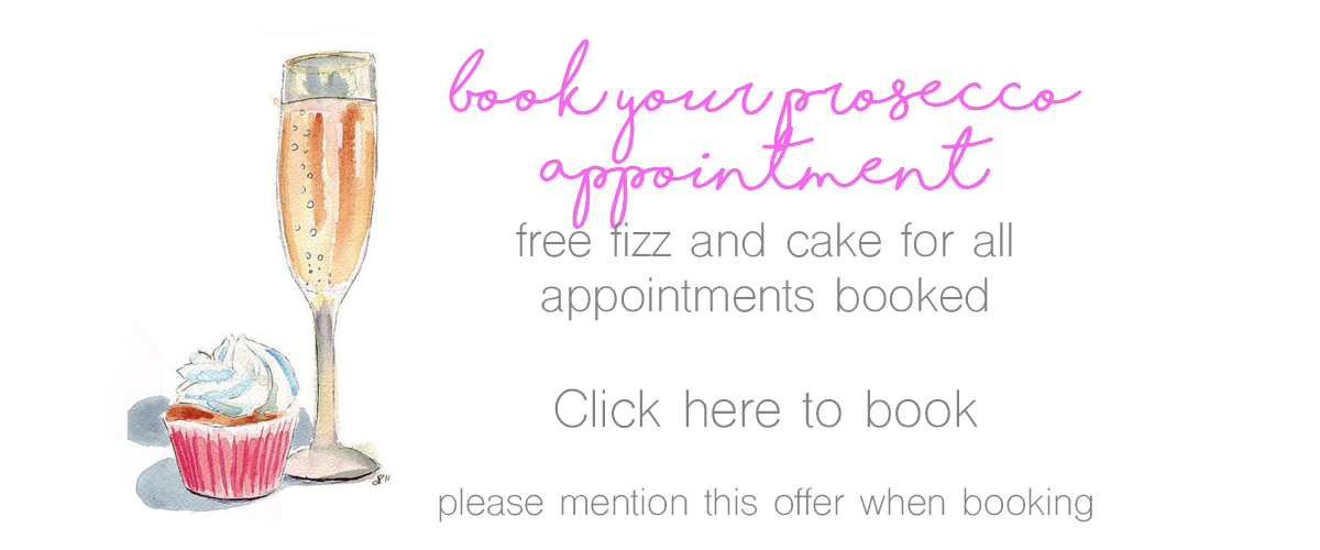 book your prosecco appointment with rocksforfrocks